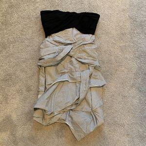 NWOT Carven Strapless Cotton Dress Size 38IT